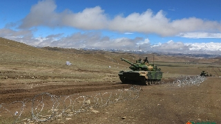 PLA Xinjiang Military Command commissions first Type 15 light tanks