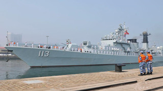 22nd Chinese naval escort taskforce arrives in Qingdao