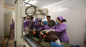 Chinese peacekeeping medical detachment to Mali saves landmine attack victim