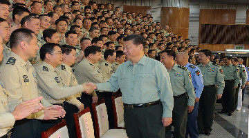 President Xi Jinping Inspects PLA Rocket Force