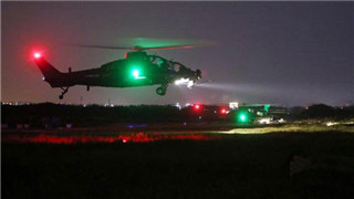 Military helicopter crashes in southeast China, two pilots missing