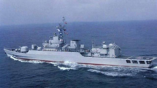 PLA frigates search for fishing boat crew in East China Sea