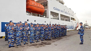 Vietnam's Coast Guard ship leaves for China visit