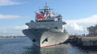 Chinese naval escort fleet visits Madagascar