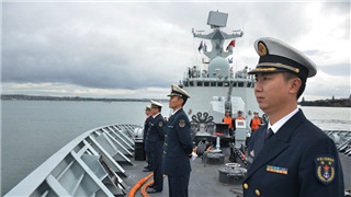 25th Chinese naval escort taskforce completes visit to New Zealand