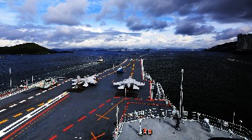 In Pics: Aircraft carrier