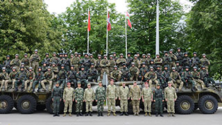 Belarus—China military exercise United Shield 2017 launches in Minsk