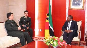 Mozambican president hopes to strengthen cooperation with China
