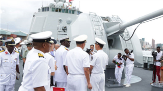 Chinese military ship docks at Dar port as sign of diplomatic ties