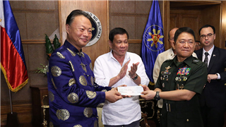 China donates P65M for troops wounded in Marawi fighting