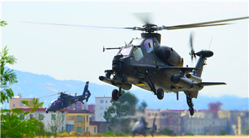 Attack helicopters in low altitude penetration