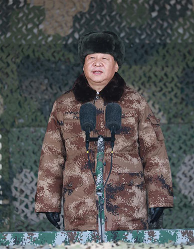 赌博平台网址:Xi_presides_over_landmark_PLA_training_mobilization