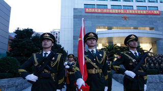 PLA Macao Garrison has new commander