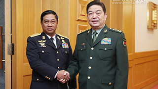 China, Myanmar to further military cooperation for border stability