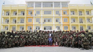 Chinese-built military training centre opens in Tanzania