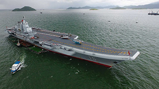 Nation can produce larger carriers