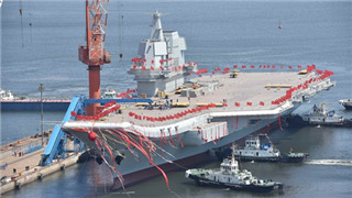 Advantages of China's first domestically-built aircraft carrier, compared to