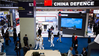 Chinese defense firms display products for Southeast Asia at DSA