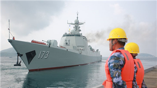 Chinese naval fleet sets sail for Multilateral Naval Exercise Komodo 2018