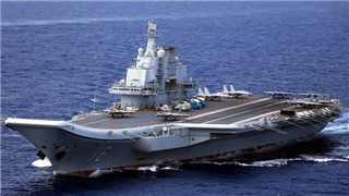 Chinese aircraft carrier formation returns after live-fire drills