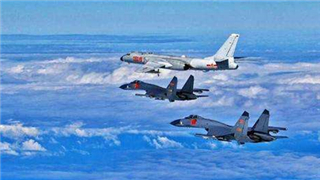 PLA sends planes round Taiwan for second time in a week