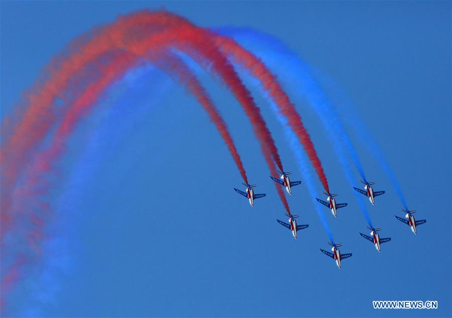 Highlights of Belgian Air Force Day - China Military
