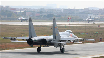 Fighter jets await approval to takeoff