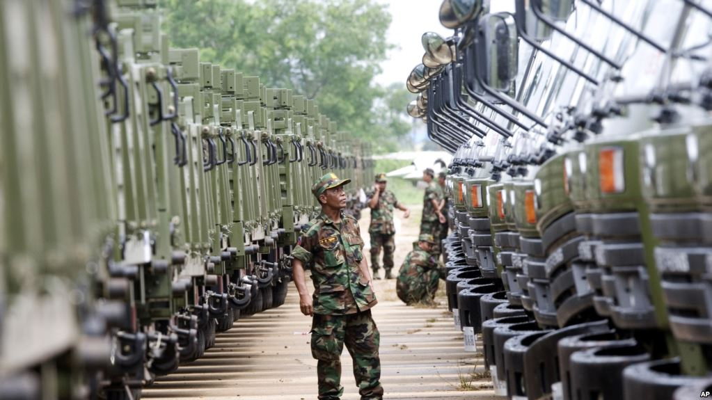 Chinese troops arrive in Cambodia for