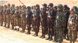 China, Cambodia kick off Golden Dragon-2019 joint military exercise