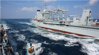 China's Navy goes to high seas for peace