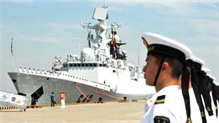 Timeline: 70 years of Chinese navy