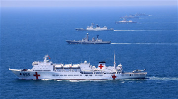 Pics: China-Southeast Asian countries joint naval exercise