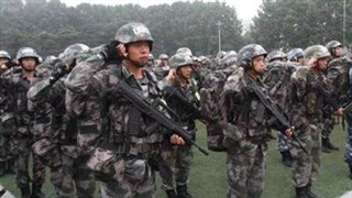 PLA Ground Force holds
