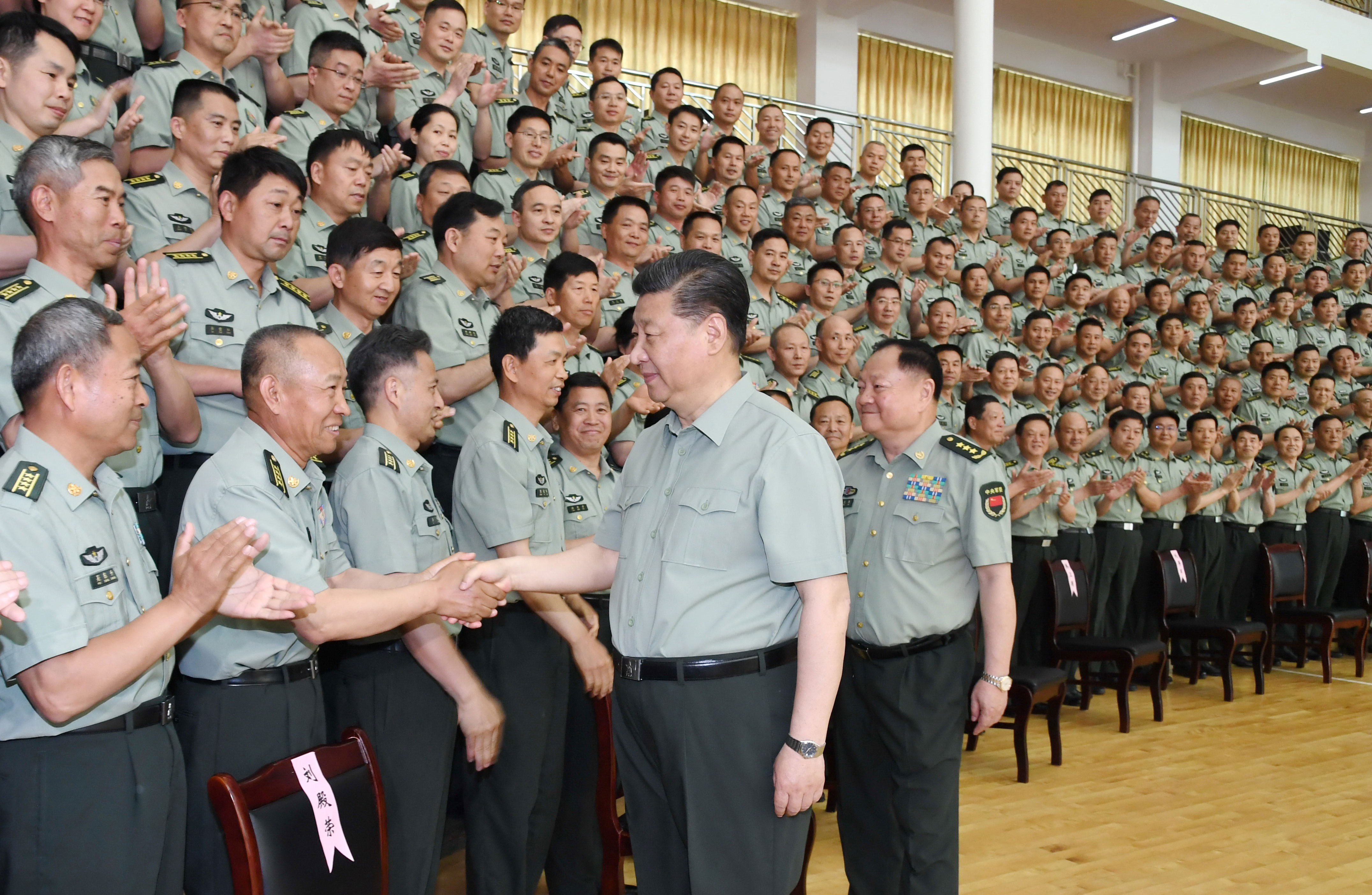 Xi inspects PLA Army Infantry Academy - China Military