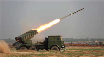 Rocket launcher systems launch 122mm rockets