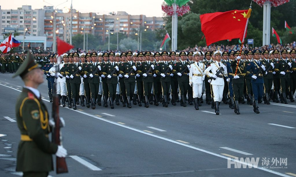 Chinese military takes part in Belarus Independence Day
