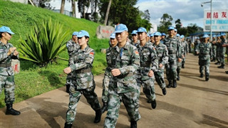 Chinese peacekeeping engineers to DRC repair traffic arteries in Walungu