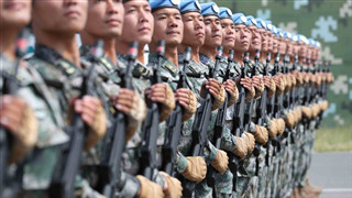 Chinese peacekeeping contingent to Mali rotates its troops in Menaka