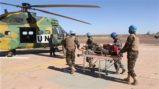 Chinese peacekeepers to Mali join in multinational rescue drill