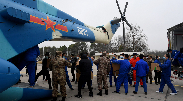 PLA Y-20 strategic cargo planes debut in fight against novel coronavirus outbreak