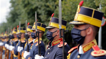 Romanian Aviation and Air Force Day celebrated in Bucharest, Romania