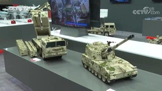 Chinese weapons shine at Mideast expo