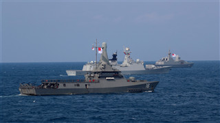 China, Singapore wrap up joint naval drill