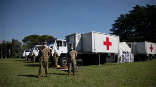 Chinese field hospital helps Argentina fight against pandemic