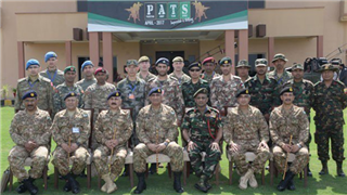 PLA Army participates in Pakistan Army Team Spirit (PATS) competition