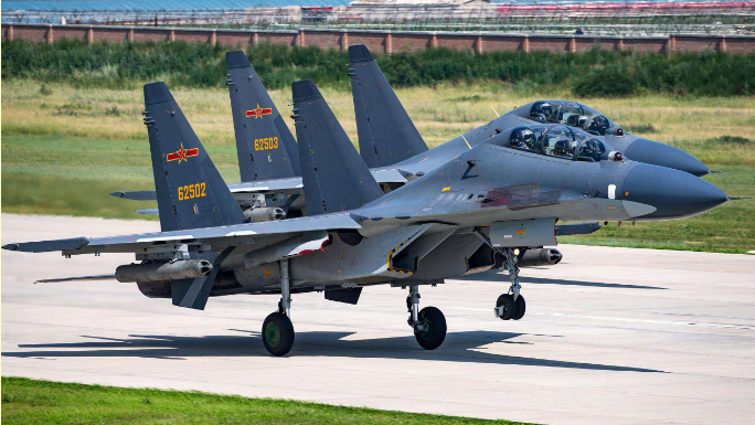 With modified fire control system, China's Su-30 fighter jets might