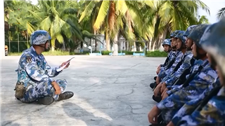 PLA naval troops active in oral English learning